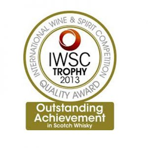 Outstanding Achievement Award in the Scotch Whisky Industry