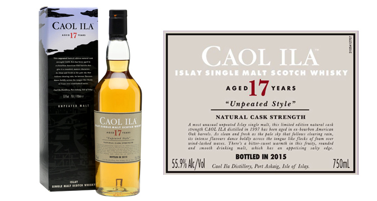 Caol Ila 17 Year Old