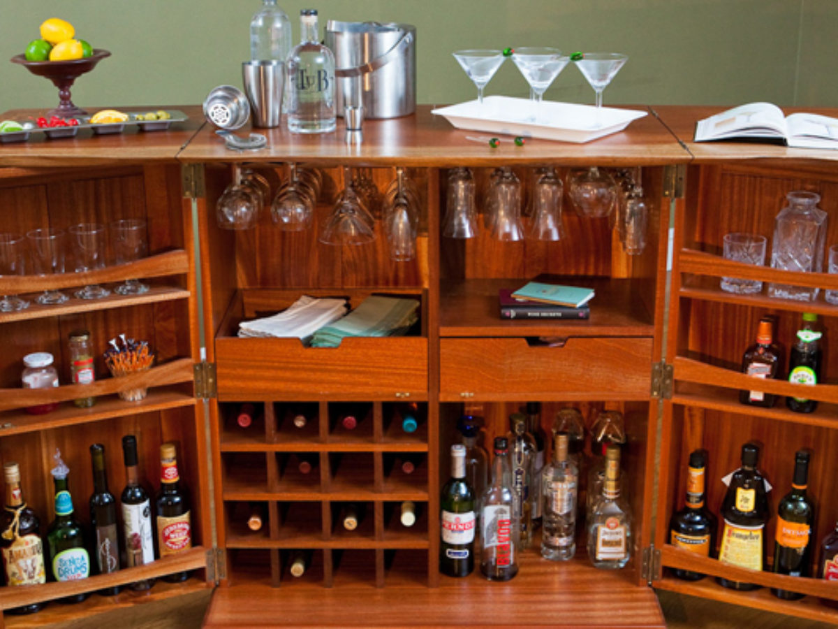 The Five Building Blocks To Creating A Great In Home Whisky Bar And Cabinet