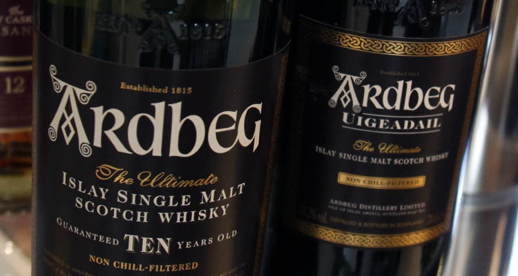 whisky label guide