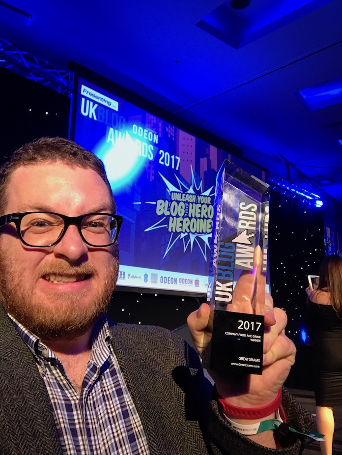 food and drink blog of the year