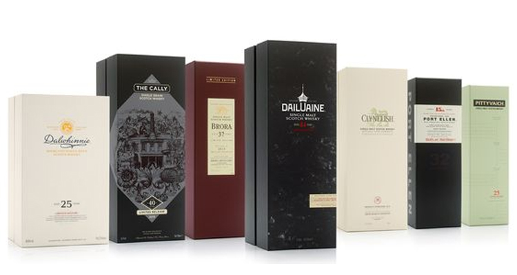luxury spirits packaging