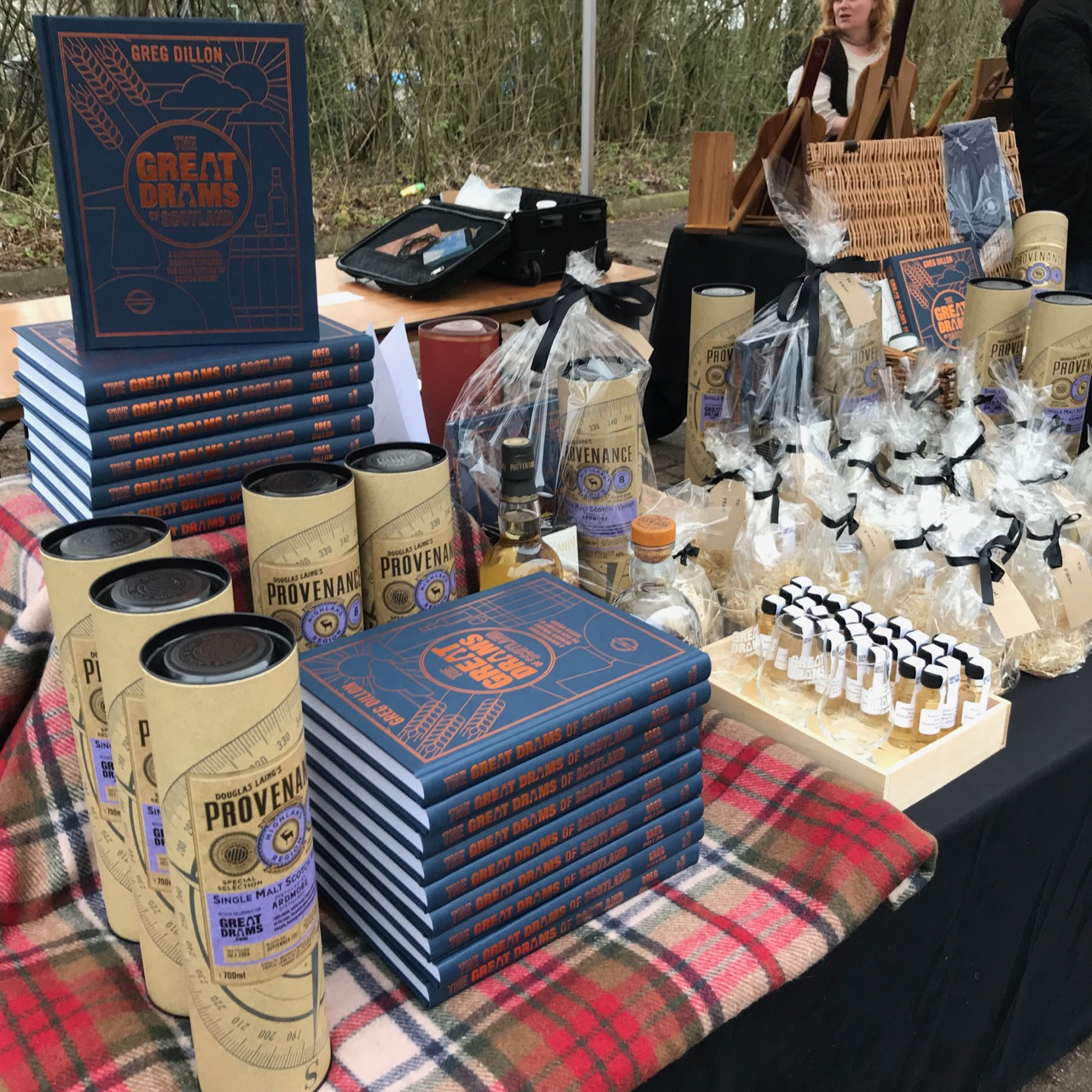 GreatDrams Events Showcasing our Whisky Gifts