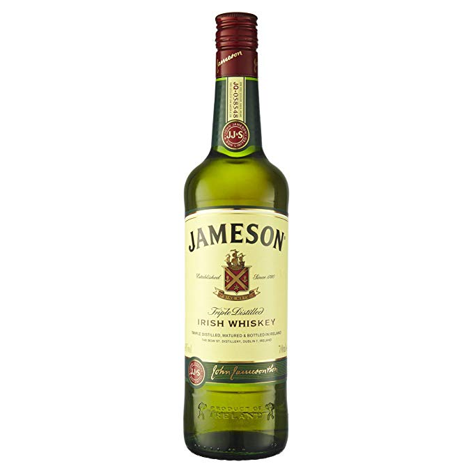 jameson whiskey bottle
