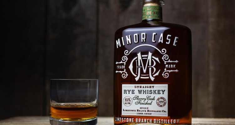 Minor Case Straight Rye Whiskey Refreshes Bottle Design