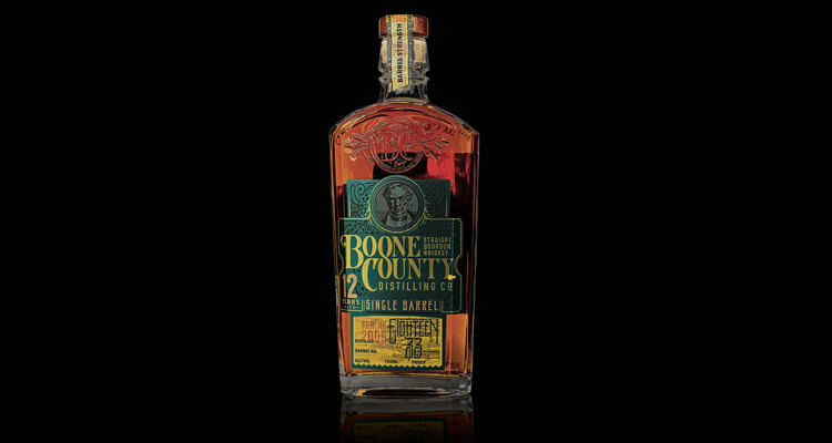 Boone County 12 Year Old Single Barrel Kentucky Straight Bourbon