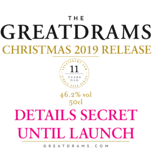 GreatDrams Christmas 2019 Limited Edition Whisky