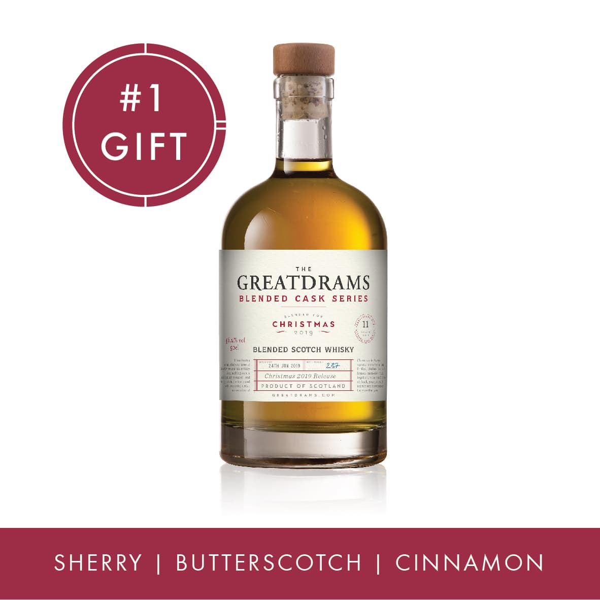 Christmas 2019 Limited Edition Blended Scotch Whisky