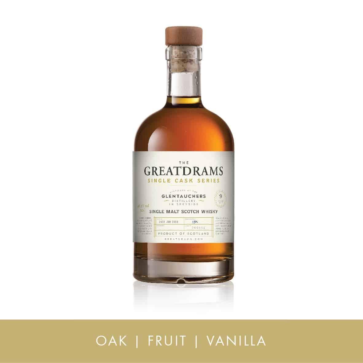Glentauchers Single Cask Single Malt Scotch Whisky