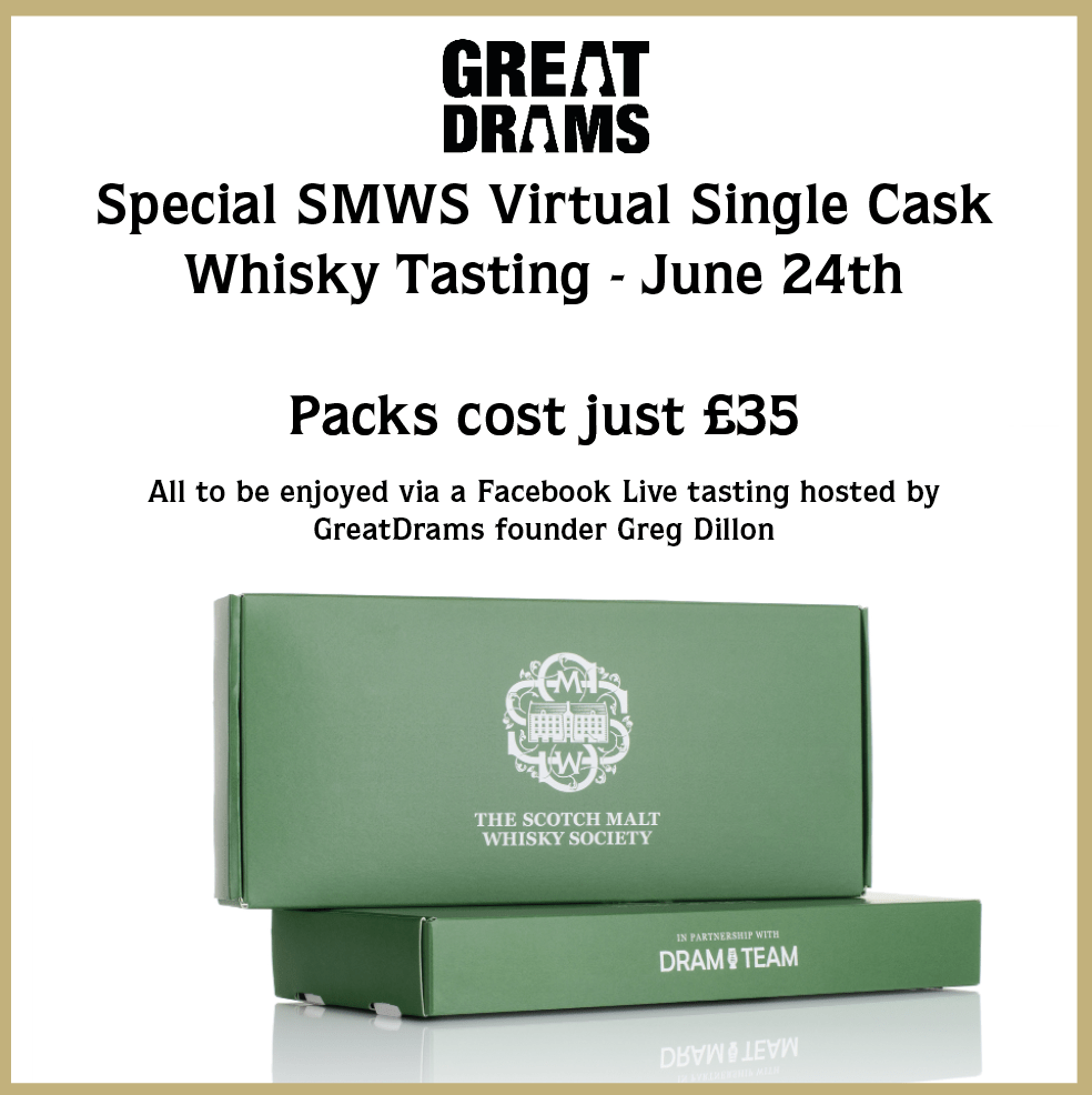 SMWS virtual whisky tasting