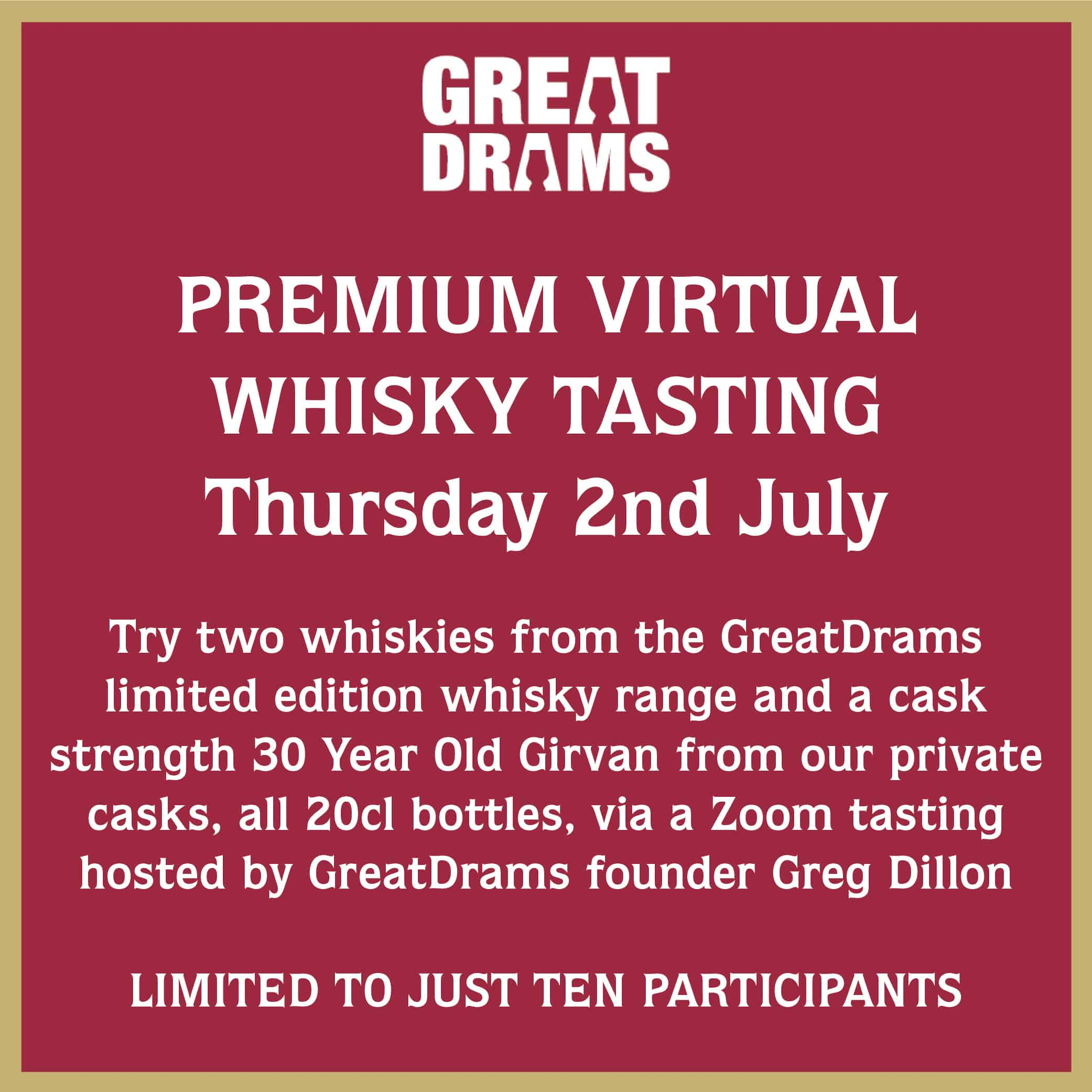 premium virtual whisky tasting