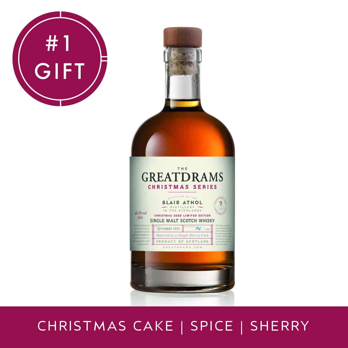 Christmas 2020 Whisky Blair Athol