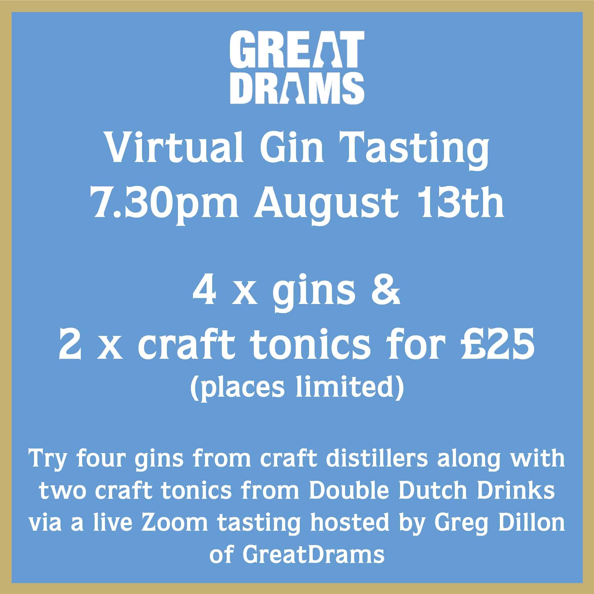 Virtual Gin Tasting