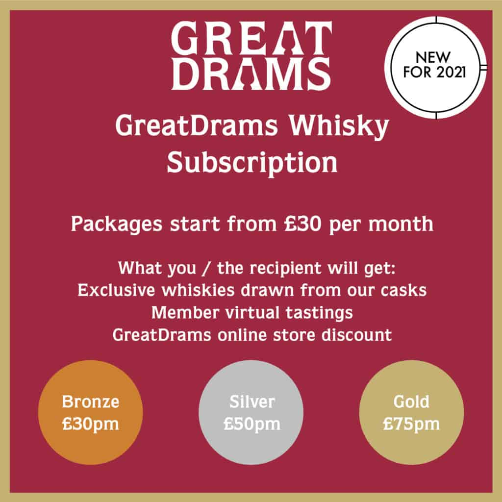 GreatDrams Whisky Subscription