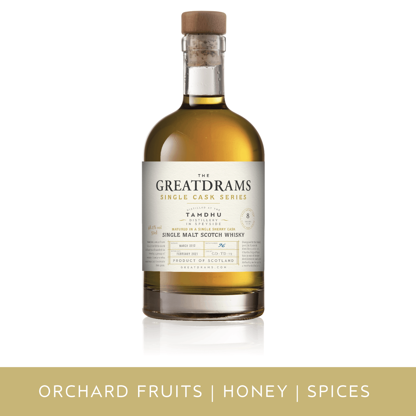 GreatDrams Tamdhu Single Cask