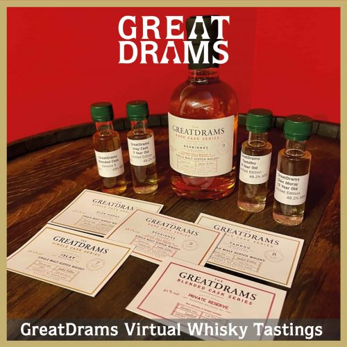 GreatDrams virtual whisky tasting