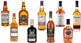 Scotch Whiskies Matured in Wine Casks